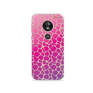 Capa para Moto E5 Play - Animal Print Pink