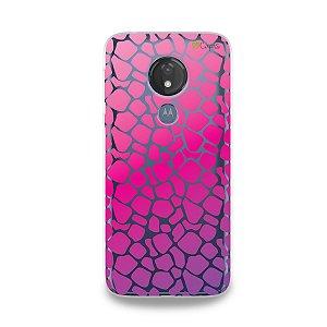 Capa para Moto G7 Power - Animal Print Pink