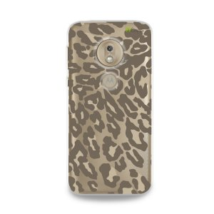 Capa para Moto G7 Play - Animal Print Nude