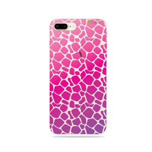 Capa para iPhone 7 Plus - Animal Print Pink