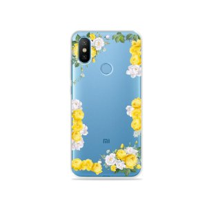 Capa para Xiaomi Mi 8 - Yellow Roses