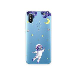 Capa para Xiaomi Mi 8 - Astronauta Sonhador