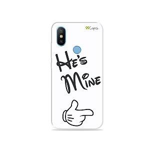 Capa para Xiaomi Mi 8 - He's Mine