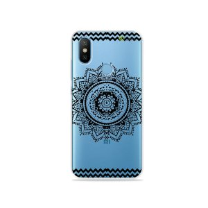 Capa para Xiaomi Mi 8 - Mandala Preta