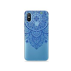 Capa para Xiaomi Mi 8 - Mandala Azul