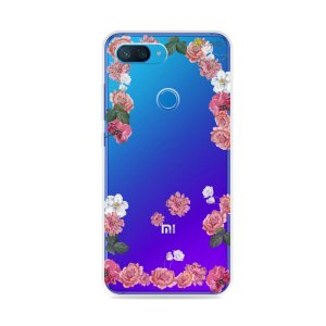 Capa para Xiaomi Mi 8 Lite - Pink Roses