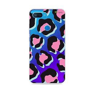 Capa para Xiaomi Mi 8 Lite - Animal Print Black & Pink