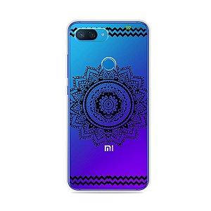 Capa para Xiaomi Mi 8 Lite - Mandala Preta