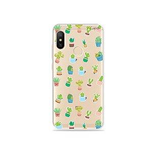 Capa para Xiaomi Mi A2 Lite - Cactus