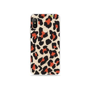 Capa para Xiaomi Mi A2 Lite - Animal Print Red
