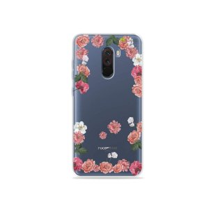 Capa para Xiaomi Pocophone F1 - Pink Roses