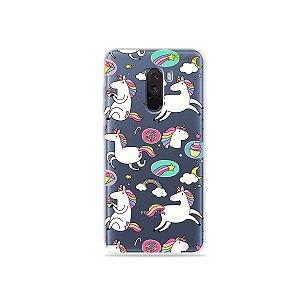 Capa para Xiaomi Pocophone F1 - Unicórnios Felizes