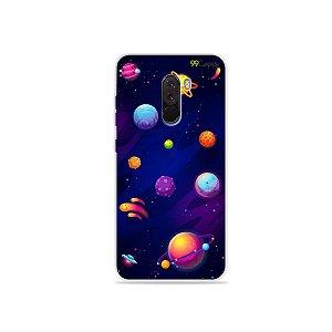 Capa para Xiaomi Pocophone F1 - Galáxia