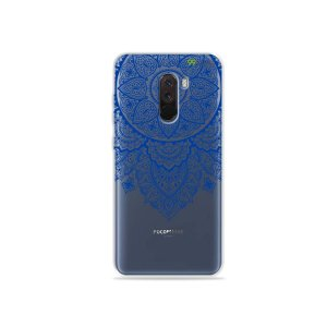 Capa para Xiaomi Pocophone F1 - Mandala Azul