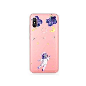 Capa para Xiaomi Redmi Note 6 Pro - Astronauta Sonhador