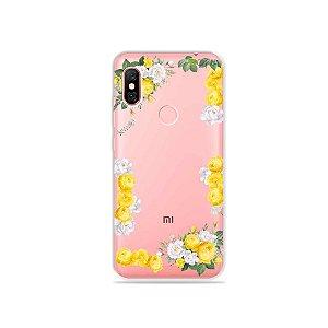 Capa para Xiaomi Redmi Note 6 Pro - Yellow Roses