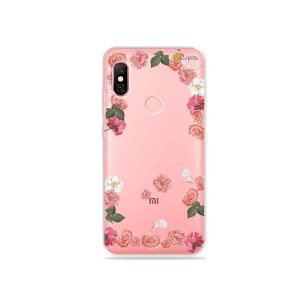 Capa para Xiaomi Redmi Note 6 Pro - Pink Roses