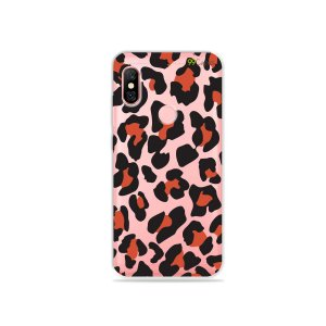 Capa para Xiaomi Redmi Note 6 Pro - Animal Print Red