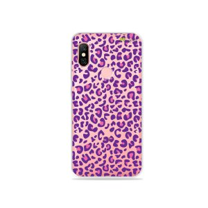 Capa para Xiaomi Redmi Note 6 Pro - Animal Print Purple