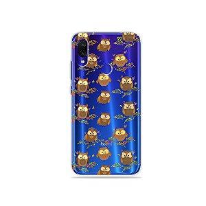 Capa para Xiaomi Redmi 7 - Corujinhas