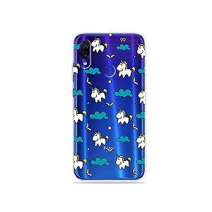 Capa para Xiaomi Redmi 7 - Unicórnios