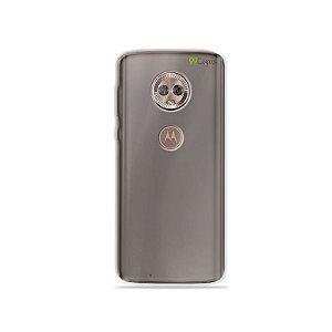 Capa Fumê para Moto G6 Plus {Semi-transparente}