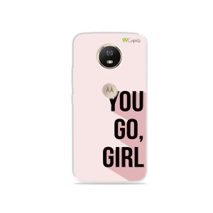 Capa para Moto G5S - You Go, Girl