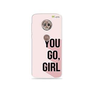Capa para Moto G6 - You Go, Girl