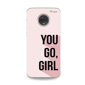 Capa para Moto G7 - You Go, Girl