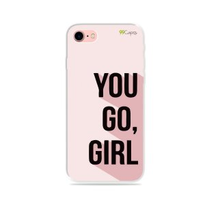 Capa para iPhone 7 - You Go, Girl