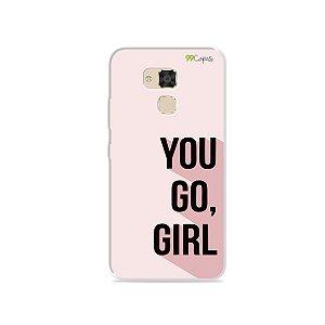 Capa para Asus Zenfone 3 Max - 5.2 Polegadas - You Go, Girl