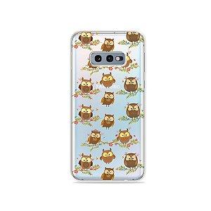 Capa para Galaxy S10e - Corujinhas