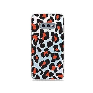 Capa para Galaxy S10e - Animal Print Red