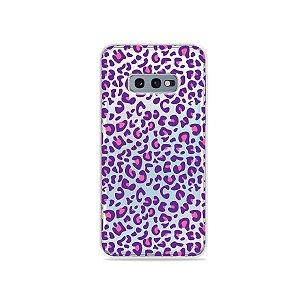 Capa para Galaxy S10e - Animal Print Purple