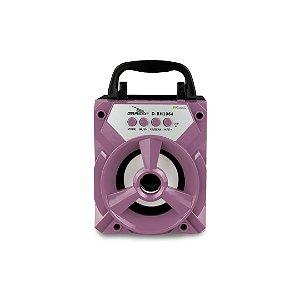 Mini Caixa de Som Bluetooth Rosé - 99Capas