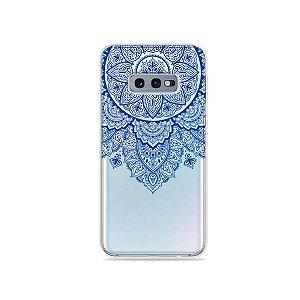 Capa para Galaxy S10e - Mandala Azul