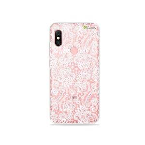 Capa para Xiaomi Redmi Note 6 Pro - Rendada