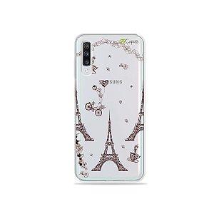 Capa para Galaxy A70 - Paris