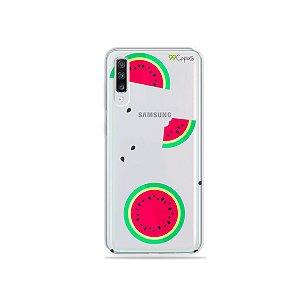 Capa para Galaxy A70 - Melancias
