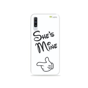 Capa para Galaxy A70 - She's Mine