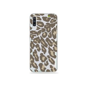 Capa para Galaxy A70 - Animal Print Nude