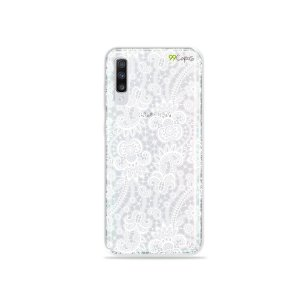 Capa para Galaxy A70 - Rendada