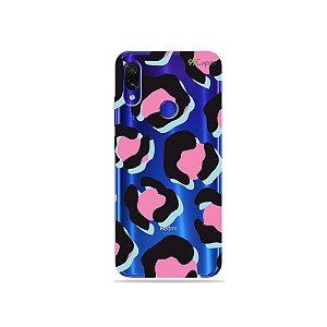 Capa para Xiaomi Redmi Note 7 - Animal Print Black & Pink