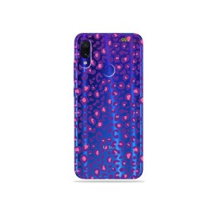 Capa para Xiaomi Redmi Note 7 - Animal Print Purple