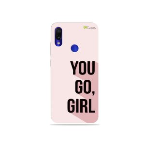Capa para Xiaomi Redmi Note 7 - You Go, Girl