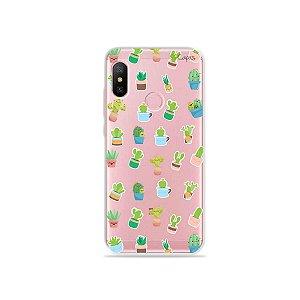 Capa para Xiaomi Redmi Note 6 - Cactus