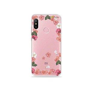Capa para Xiaomi Redmi Note 6 - Pink Roses