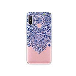 Capa para Xiaomi Redmi Note 6 - Mandala Azul
