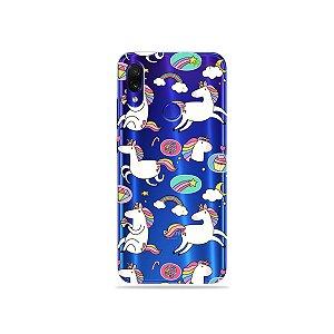 Capa para Xiaomi Redmi Note 7 - Unicórnios Felizes