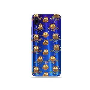 Capa para Xiaomi Redmi Note 7 - Corujinhas